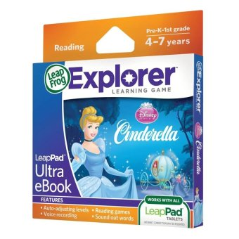 Harga LEAPFROG Explorer Software Learning Game: Disney Princess Cinderella