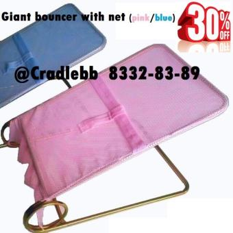 Giant bouncer (Pink netting)
