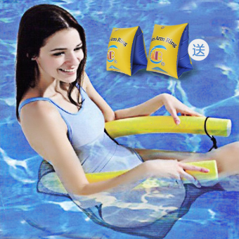 Water floating row toys casual recliner pool swimming equipment adult children play water board Floating Plate floating ring Floating Bed