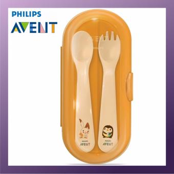 Harga Philips Avent Cutlery Set With Travel Case 12m+