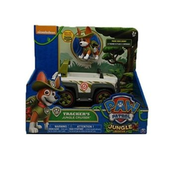 Harga Paw Patrol Jungle Rescue Trackers Cruiser Vehicle - intl