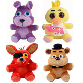 Harga Five Nights At Freddy Plush Freddy Bear Foxy Rabbit Duck Kawaii Plush Toys Freddy Toys FNAF Children Gift