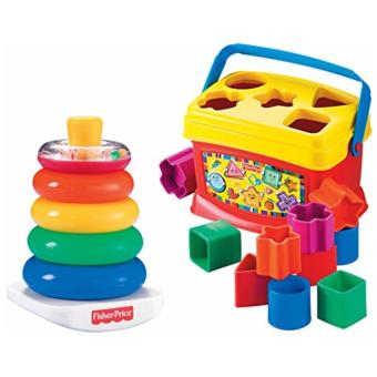 Harga Fisher-Price Baby's First Blocks and Rock Stack Bundle