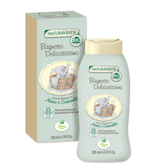 Naturaverde Organic Delicate Bubble Bath - Dumbo 200ml