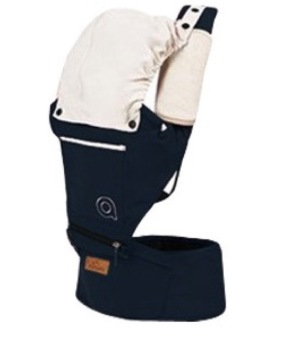 Harga [Dark Blue] Baby Carrier Hip Seat Safety Portable Foldable Slings Infant New Born Children Boy Girl Travel