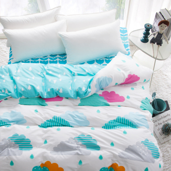 Harga Antarctic cotton cartoon cotton quilt single bed quilt m m x double student