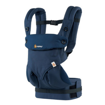 Harga Manufacturers ergo-baby back with four style 360 baby baby sling cotton multifunction baby carrier air section(Dark blue)