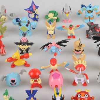 Harga 12pcs Hot Cute 5~6cm Pokemon Mini Random Pearl ct Figures Toy Party Gift