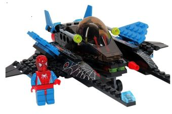 Harga Bricks Building Toys-Spider Superman 6002