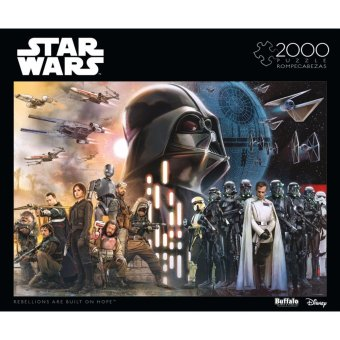 "Harga Star Wars: Rogue One - ""Rebellions are Built on Hope"" – 2000-piece Jigsaw Puzzle"