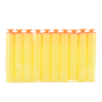 Harga Buytra Refill Darts Bullet for NERFwith Sucker Yellow 100 Pcs