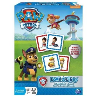Harga Paw Patrol Look a Likes Matching Board Game