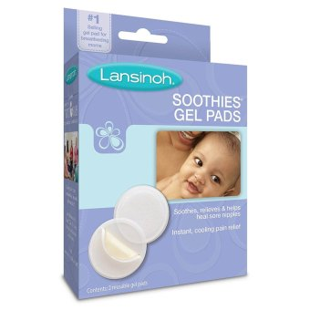 Harga Lansinoh Soothies Gel Pads (2pcs) for Breastfeeding Mothers(White)