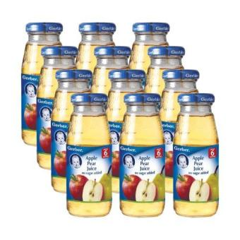 Harga GERBER® Apple Pear Juice 175ml x 12pcs