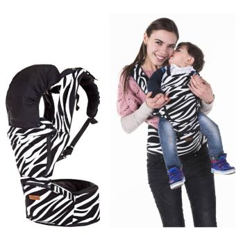 Harga Korea Jerry Baby Hip Seat Baby Carrier-Zebra