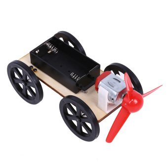 Harga DIY Assembling Wind Up Car Scientific Puzzle Toy