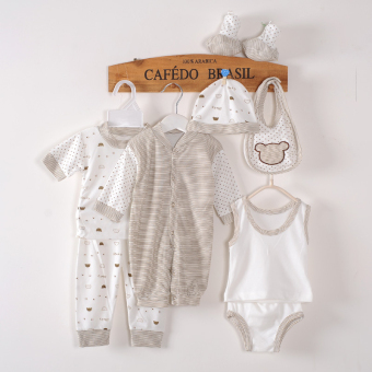 Harga [eight-piece]Infant newborn cotton boutique clothing eight-piece