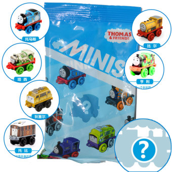 Harga Mattel thomas toys mini pocket small locomotive DFJ15 blind pack random boy toy