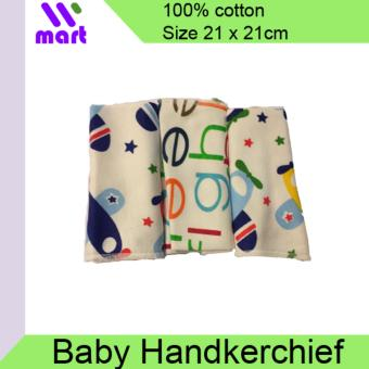 Harga 3Pcs Baby Cotton Handkerchief Small Towel Bibs