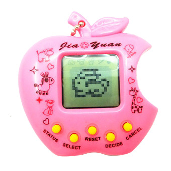 Harga Mini Handy Kids Adults Classic Nostalgic Electric Virtual Cyber Pet Game Toy Machine Quantity 1 Random Color - intl