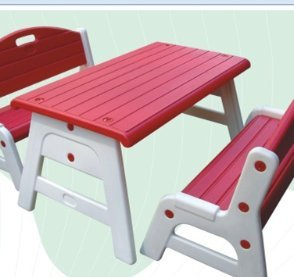 New special luxury special nursery tables and chairs child desk study desk game table plastic table