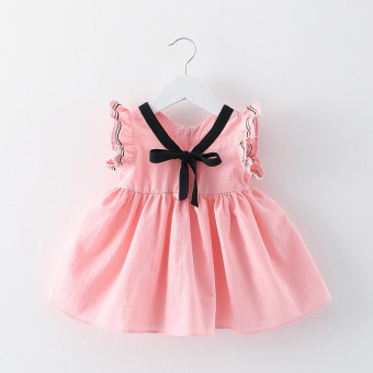 Harga Baby Girl Summer Fashion Dress (EXPORT) - Intl