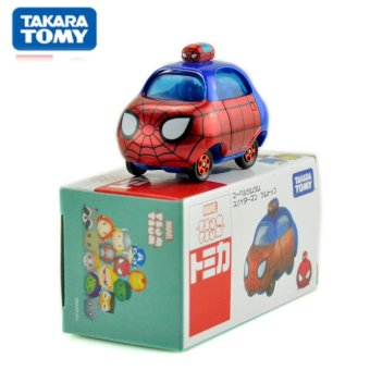 Harga Tomy multi - American Card Stacked Music Layer Music Car Model Car Tsum Planet Warfare Iron Man Spider
