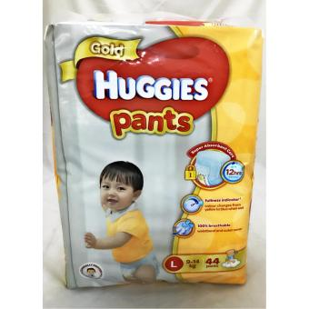 Harga HUGGIES GOLD PANTS L-44's
