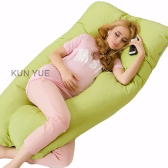Harga U Shaped – Full Support – Pregnancy Pillow - 140x80x20cm - intl