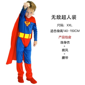 Harga Children's Day children's clothing cos Altman us Captain Superman spider man clothes slim fit clothing suit men