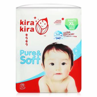 KIRA KIRA Baby Diapers Pants Jumbo pack XL 40pcs