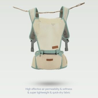 Lekebaby 360 Breathable Ergonomic Baby Carrier Hipseat