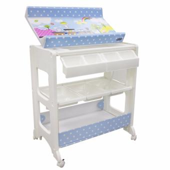 Lucky Baby Besto Bath and Changing Station (Blue)