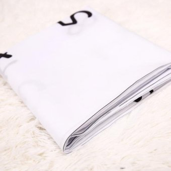 MagiDeal Newborn Baby Letter Milestone Blankets Photography Photo Props 3 - intl - 3