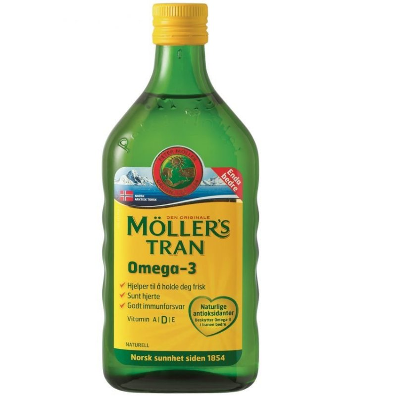 Buy Möllers Omega-3 Cod Liver Oil - Natural Singapore