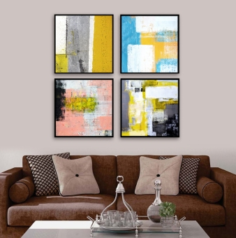 Modern Simple Abstract Painting Framed Painting The Living Room Painted  Paintings Entrance Restaurant Children U0026 39 Part 81