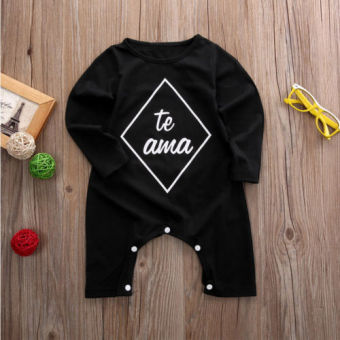 Newborn Infant Baby Boy Girl Kids Cotton Romper Jumpsuit BodysuitClothes Outfit