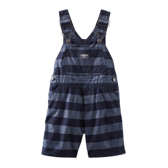 Harga OshKosh B'gosh(R) Striped Chambray Shortalls