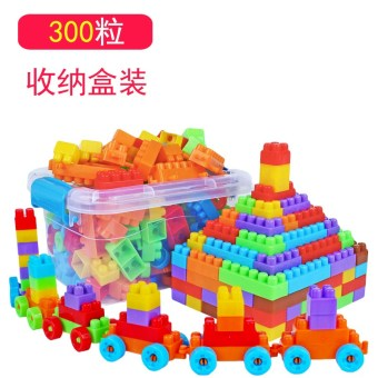 Particles kindergarten fight inserted assembled snowflake piece plastic building blocks