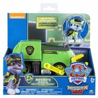 Harga Paw Patrol - Mission Paw - Rocky's Mission Recycling Truck