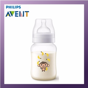 Harga PHILIPS AVENT PP Classic Plus Bottle 260ml Single Pack Monkey