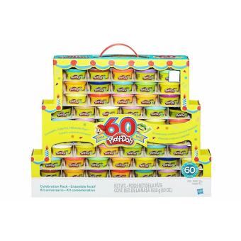 Harga Play-Doh 60th Anniversary Celebration Pack (60 Cans)
