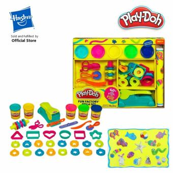 Harga Play-Doh Fun Factory Mega Set - B3087