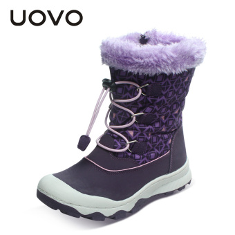 Plus velvet winter cotton boots snowfield shoes