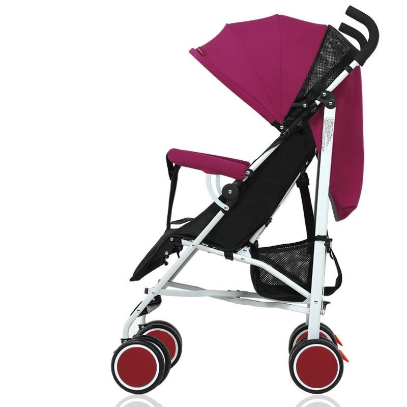 Portable Folding Folding Shock Proof Trolley for Baby Stroller 5.5KG - intl Singapore
