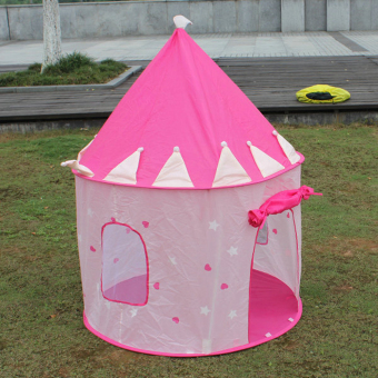 Portable Pink Pop Up Play Tent Kids Girl Princess Castle OutdoorHouse & For Sale Kids Toy Princess Play Tent Gifts Pink Export Singapore ...