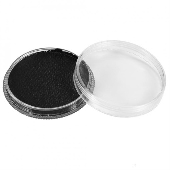 Professional Water-based Matte Body Painting Makeup Face paint(Black) - intl