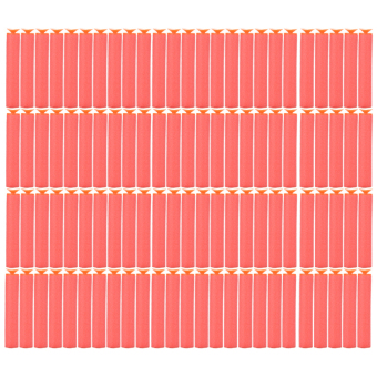 Red Refill Foam Darts for Nerf N-Strike 100Pcs - intl