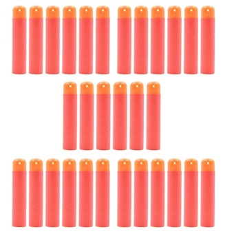 Refill Bullet Darts for Nerf N-Strike Elite Mega Centurion Red 30Pcs - intl