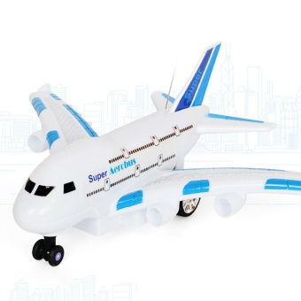 Remote Control Airplane Flying Fixed Wing Plane Drone Toys Random Color - intl